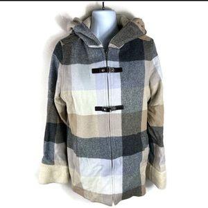 Pendleton Women's Plaid Jacket Size Medium